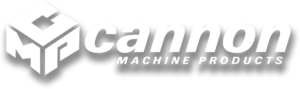cannon machine white logo